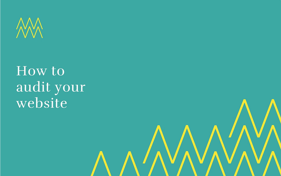 #12 How to audit your website
