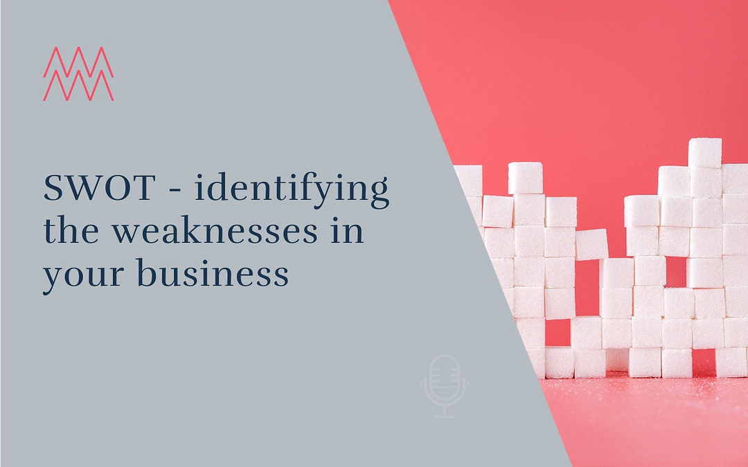 #18 SWOT – identifying the weaknesses in your business