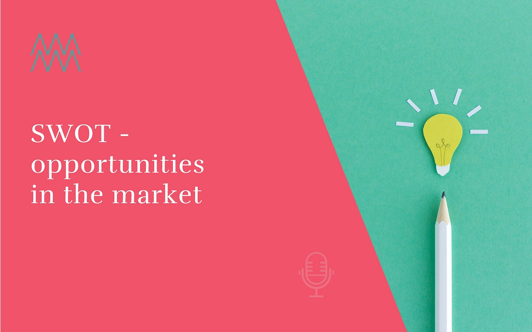 #19 SWOT – opportunities in the market