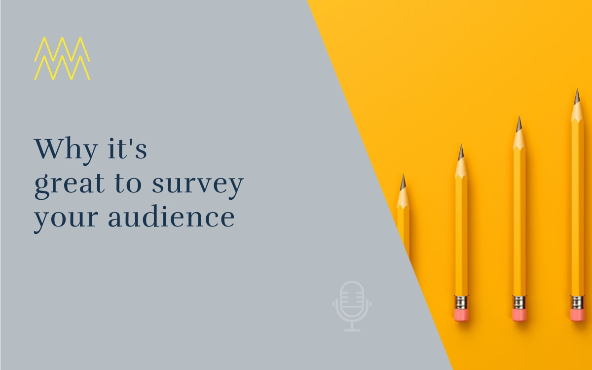 #33 Why it's great to survey your audience