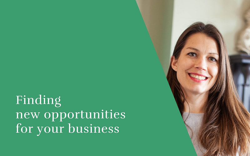 Finding new opportunities for your business