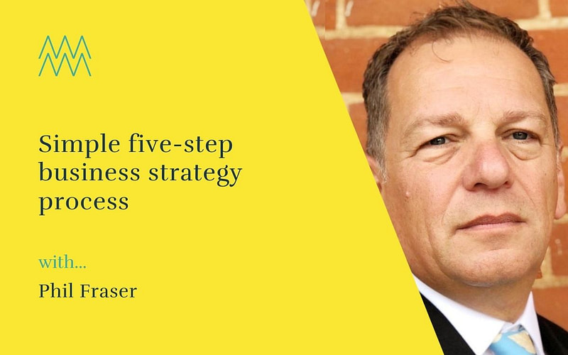 #49 – Simple five-step business strategy process, with angel investor Phil Fraser